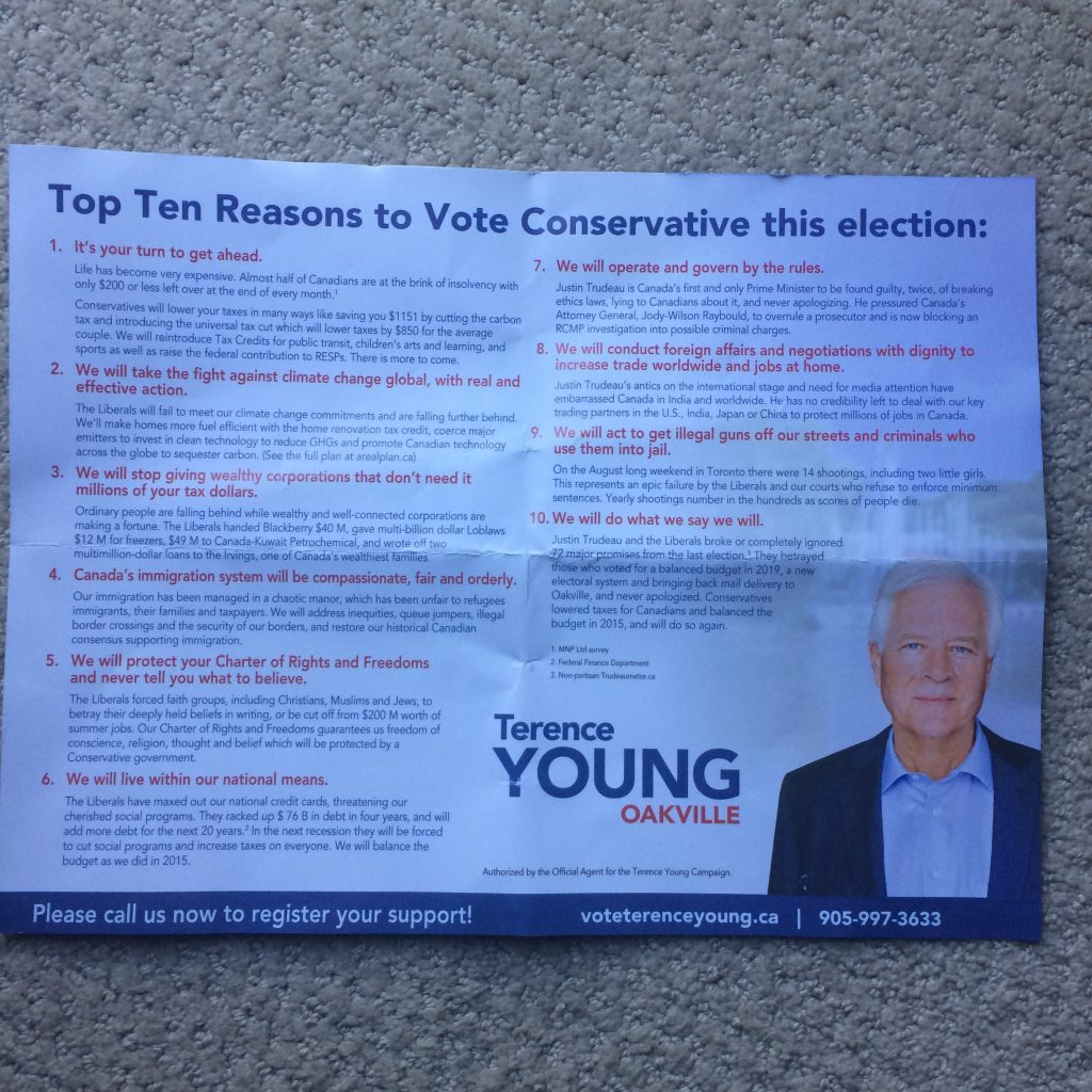 Terence Young flyer
